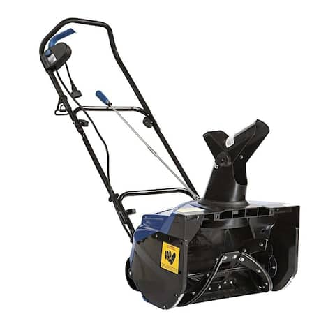 Snowjoe sj620 snow joe corded electric single stage snow thrower 18 in 13.5 amp motor