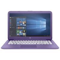 "Manufacturer Refurbished - HP Stream 14-AX020CA 14"" Laptop Intel Celeron N3060 1.6GHz 4GB 32GB eMMC Win10"