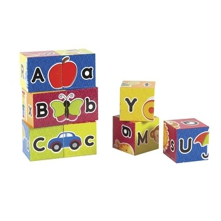 Learning Resources Alphabet Puzzle Blocks, Ages 2 and Above, Set of 9