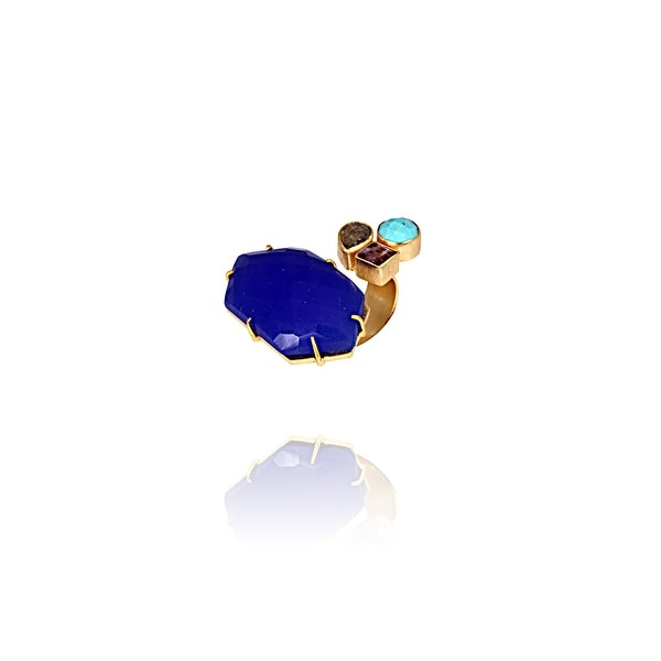 Turquoise Tides Ring- size 7