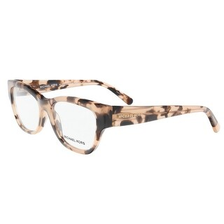 Michael Kors MK4037 3026 51 Opal Pink Havana Square Optical Frames - 51-16-135