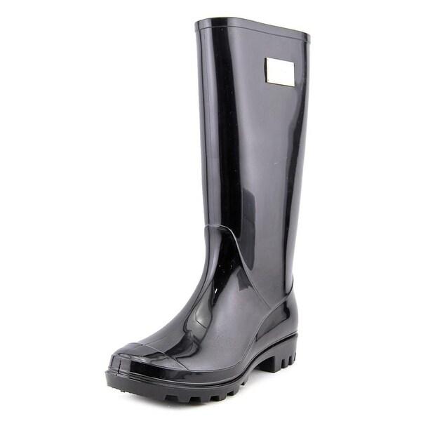 Nicole Miller New York Rainyday Round Toe Synthetic Rain Boot