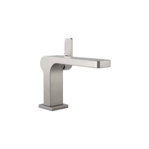 Mirabelle MIRWSCHI100 Hibiscus 1.2 GPM Single Hole Bathroom Faucet with Pop-Up Drain Assembly -