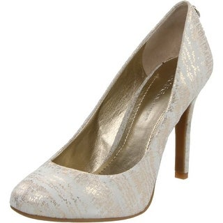 BCBGeneration Womens Lana Leather Closed Toe Classic Pumps