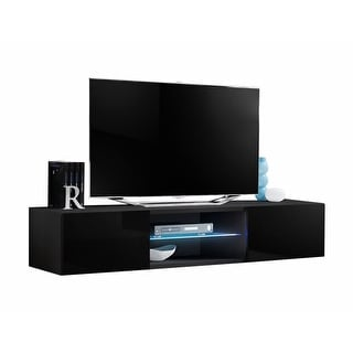 Link to Strick & Bolton Hadi Wall-mounted 63-inch TV Stand Similar Items in TV Stands & Entertainment Centers