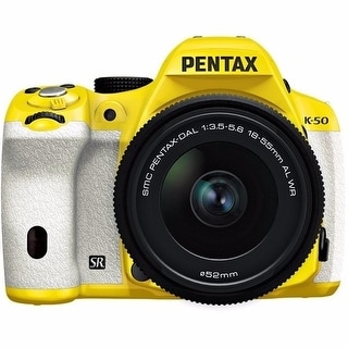 Pentax K-50 16MP Digital SLR Camera with 18-55mm