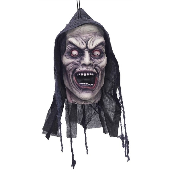 Screamer Poly Foam Hanging Head Halloween Decoration