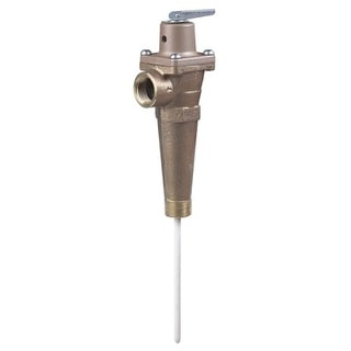 "Watts 556016 LF40XL 3/4"" Lead Free Automatic Reseating Temperature and Pressure Relief Valve"