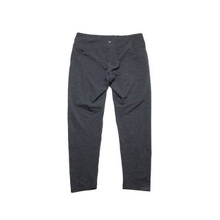 Style Co Plus Size Charcoal Tummy-Control Leggings 1X