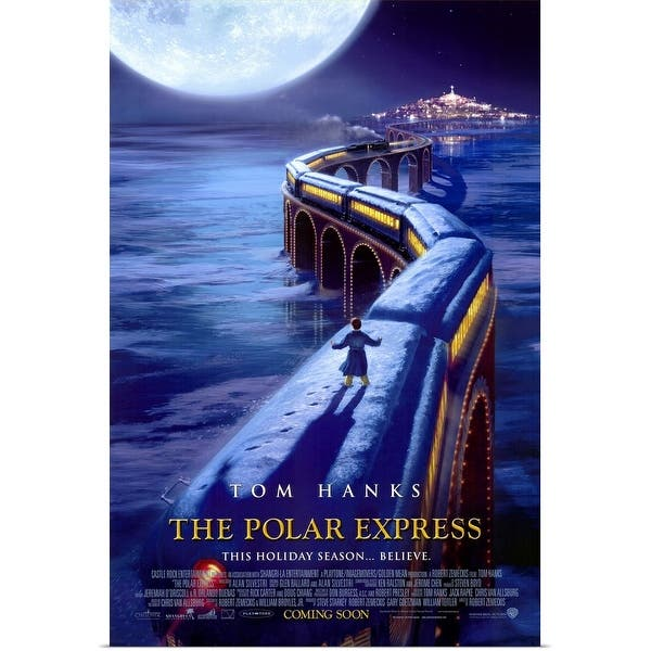 Shop Black Friday Deals On The Polar Express 2004 Poster Print Overstock 24135797