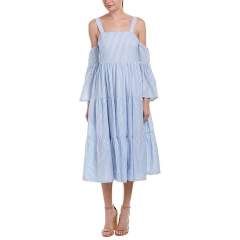 Endless Rose Striped Midi Dress