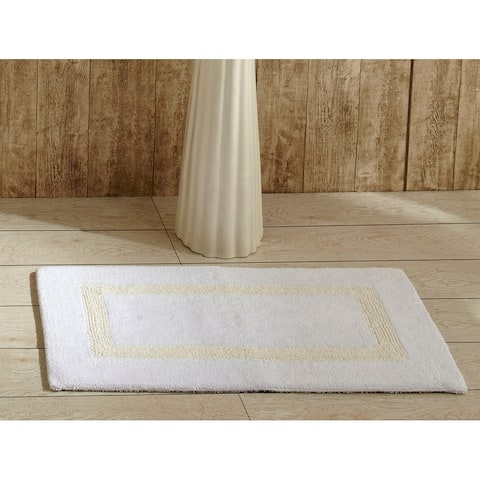 Better Trends Hotel Collection Reversible Double Sided Bath Mat Rug
