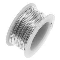 Artistic Wire, Copper Craft Wire 24 Gauge Thick, 10 Yard Spool, Stainless Steel