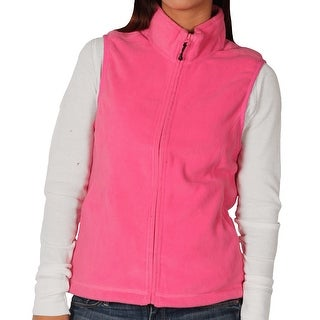 Landmark Ladies Full-Zip Micro-Fleece Vest (4 options available)