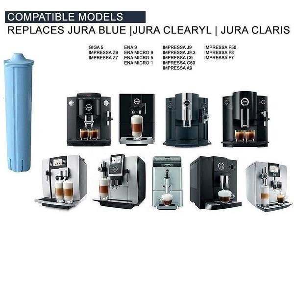 3 Water Filter Cartridge for Jura-Capresso ENA Micro 1