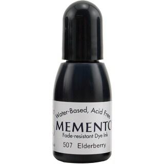 Memento Dye Ink Refill .5Oz-Elderberry