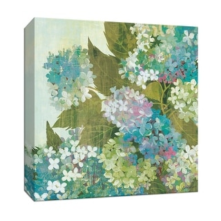 "PTM Images 9-152375  PTM Canvas Collection 12"" x 12"" - ""Grandiflora Bloom"" Giclee Flowers Art Print on Canvas"