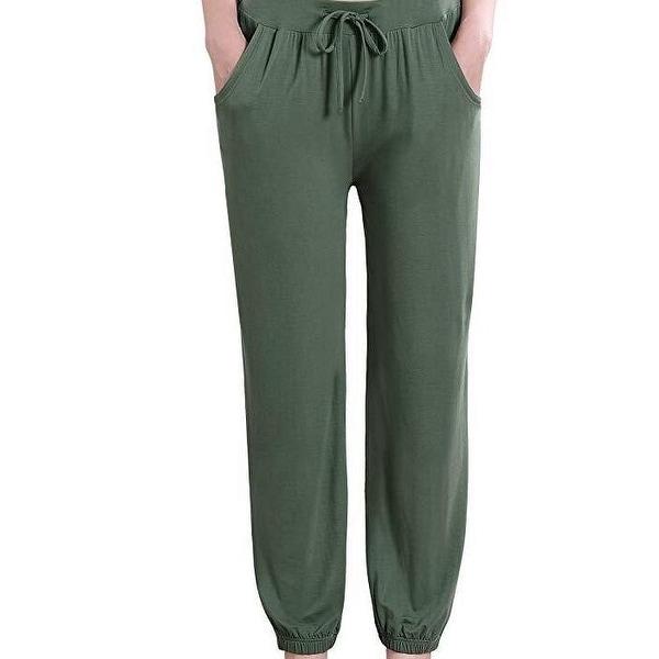 Casual Pajama Pants Drawstring Wide Leg Lounge Pants. Opens flyout.