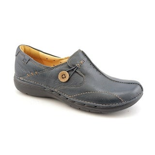 Unstructured By Clarks Un.Loop Round Toe Leather Loafer