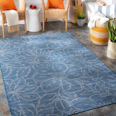 Hadley Indoor / Outdoor Floral Area Rug