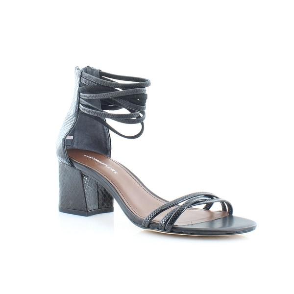 Donald J Pliner Essie Women's Sandals & Flip Flops Black