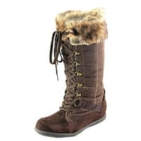 Zigi Soho Madalyn Women  Round Toe Synthetic Brown Winter Boot