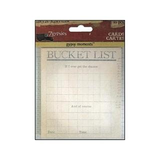 7 Gypsies Moments Cards Bucket List