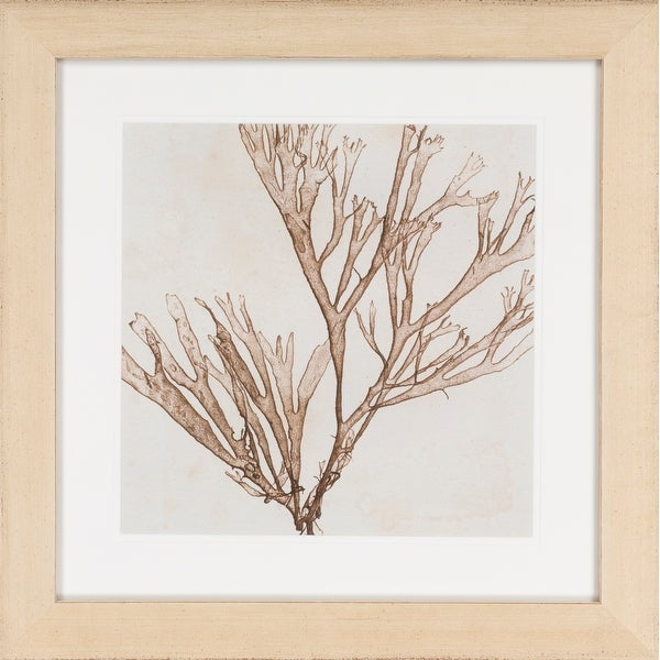 """Brown and Gray Square Wall Art 24"""" X 24"""" - N/A"""