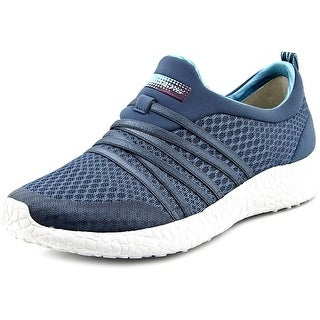 Skechers Very Darling Women Round Toe Canvas Blue Sneakers