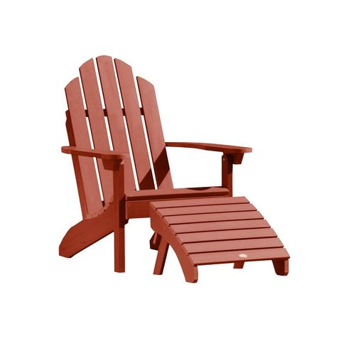 Mandalay Outdoor Chair and Ottoman Set by Havenside Home