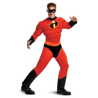 Mens Classic Muscle Mr. Incredible Superhero Costume - xxl (size 50-52)