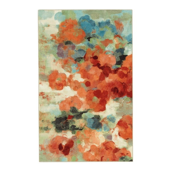Mohawk Aurora Colorful Garden Area Rug (5'x8')