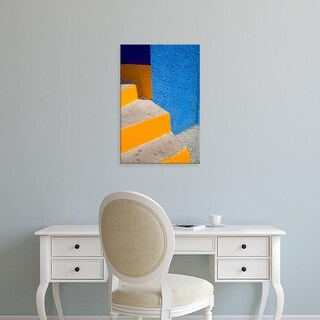Easy Art Prints Julie Eggers's 'Very Colorful Stairs Ii' Premium Canvas Art