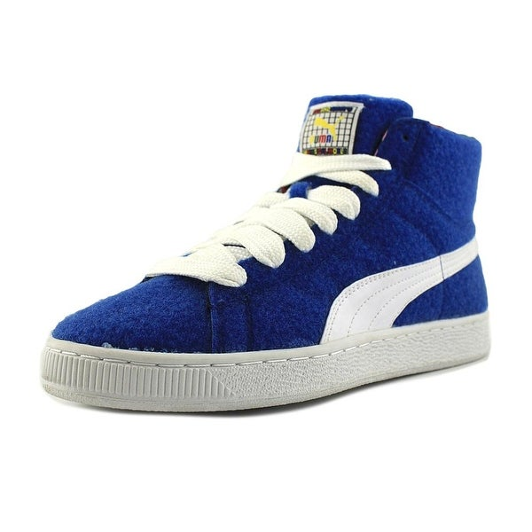 Puma Basket Mid X Dee&Ricky CR Men Nautical Blue-White Sneakers Shoes