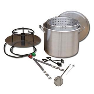 King Kooker #80BP- Cooker and 80 Qt. Pot Boiling Combo Pkg - 80BP