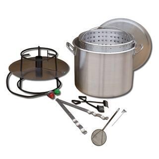 King Kooker #80BP- Cooker and 80 Qt. Pot Boiling Combo Pkg - 80BP|https://ak1.ostkcdn.com/images/products/is/images/direct/60e4364e15635ea988927a1d79a905c385a80c6e/King-Kooker-%2380BP--Cooker-and-80-Qt.-Pot-Boiling-Combo-Pkg---80BP.jpg?impolicy=medium