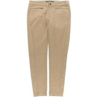 Lauren Ralph Lauren Womens Skinny Flat Front Ankle Pants