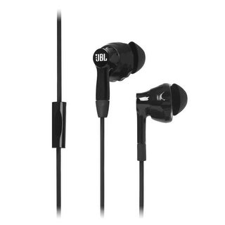 JBL Inspire 300 Sweat Proof, Remote Control with Microphone Sport Headphones - Black