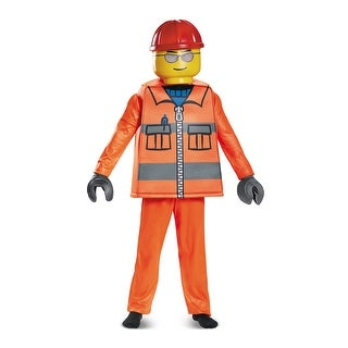 Kids LEGO Construction Worker Emmet Costume