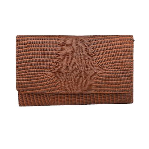 Shop LC Genuine Leather Embossed RFID Wallet