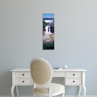 Easy Art Prints Panoramic Images's 'Iguacu Falls, Argentina