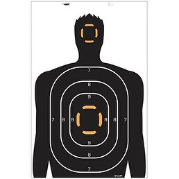 "Allen Human Target 23"" x 25"" 4pk"