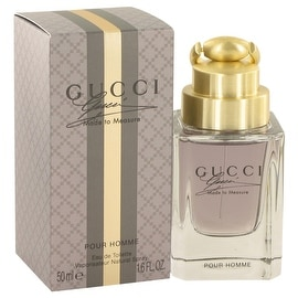 Gucci Made to Measure by Gucci Eau De Toilette Spray 1.6 oz - Men