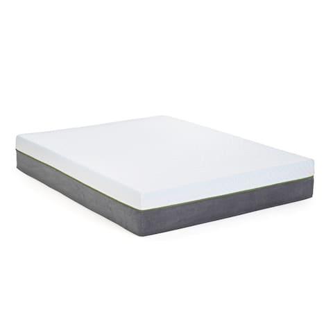 Tecoma 12-inch Copper Memory Foam Mattress and Model H Adjustable Base