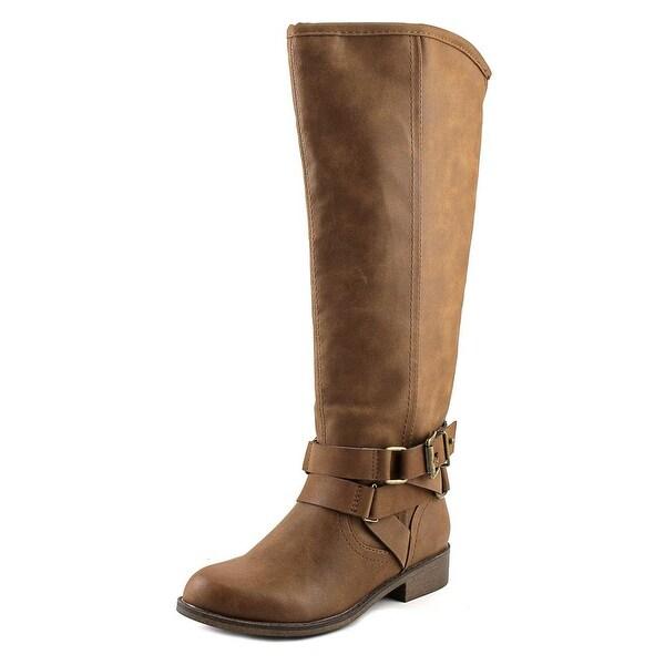 Madden Girl Corporel Women Cognac Boots