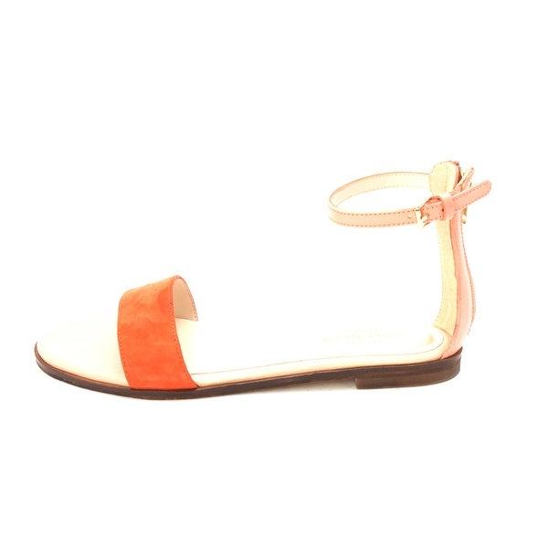 Cole Haan Womens Feminie Flat Sandal II Open Toe Casual Ankle Strap Sandals - 6