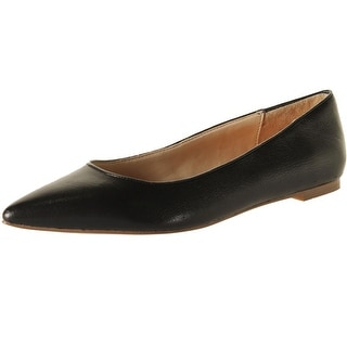 Dr. Scholl's Womens Tenacious Leather Pointed Toe Ballet Flats - 6 medium (b,m)
