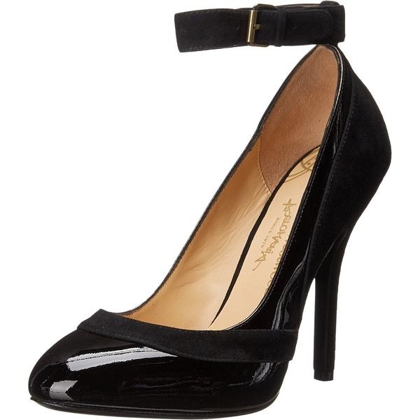 Vivienne Westwood NEW Black Women Shoe Size 8M Honey Patent Pump