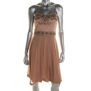 Sue Wong Womens Embellished Prom Cocktail Dress - 6