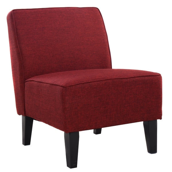 Dining And Living Room Furniture: Shop Costway Accent Chair Armless Contemporary Dining